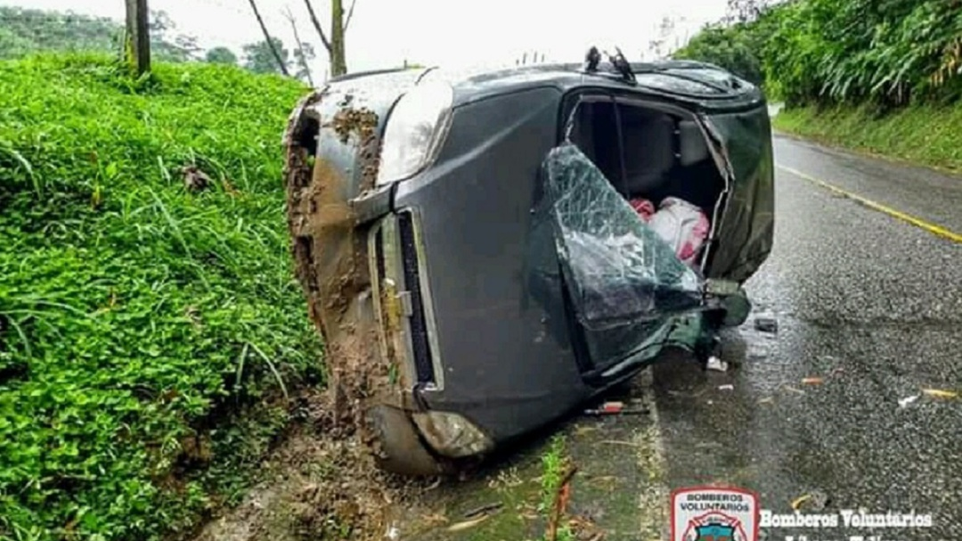 Violento accidente en el norte del Tolima