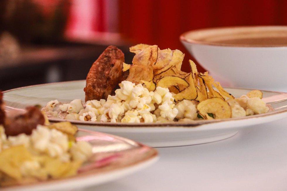 Sabores Colombia: Los platos de Sabores Colombia en la FILBo