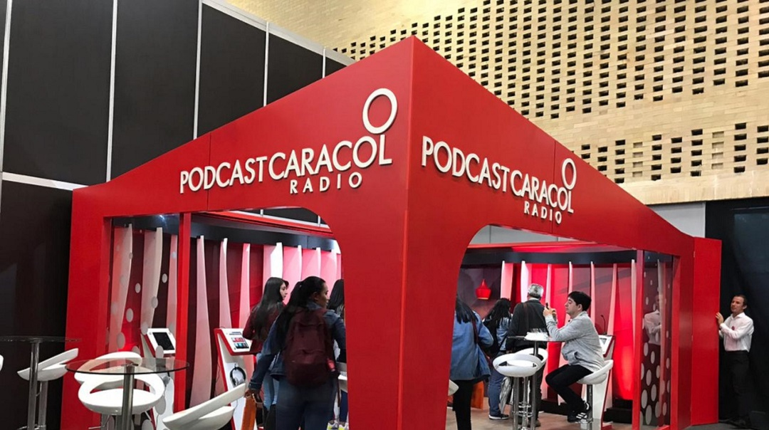 Podcast en la Filbo 2019