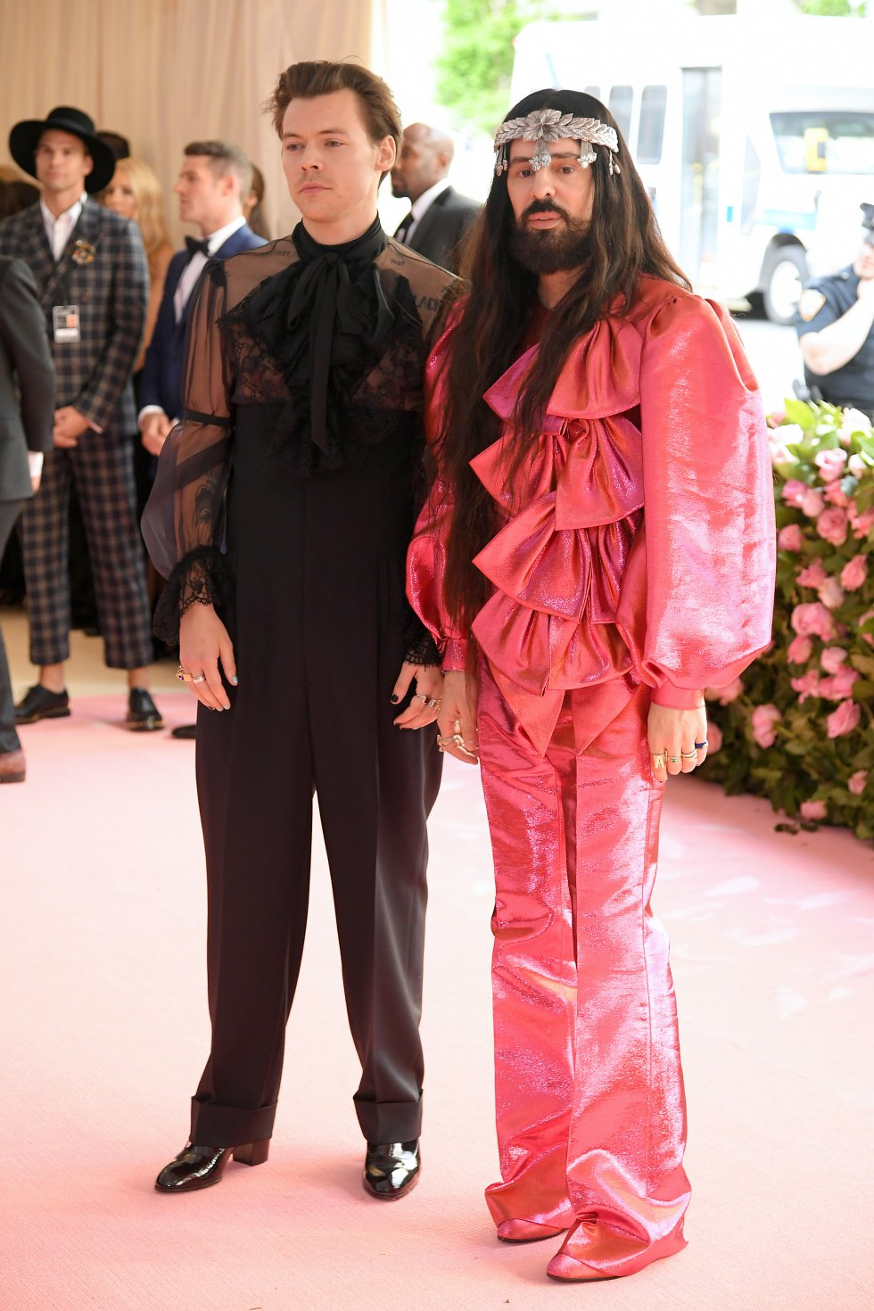 Harry Styles y Alessandro Michele