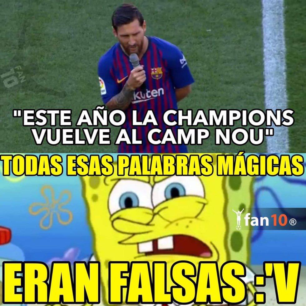 LIverpool Barcelona Champions: Los mejores memes del Liverpool Vs. Barcelona