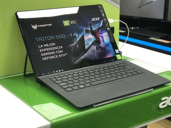 10251ee29 Laptops gaming: Predator Triton 500 una laptop ligera de alto rendimiento