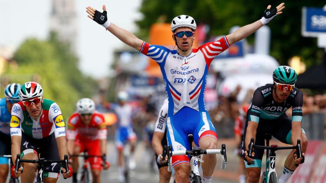 Arnaud Demare se queda con la décima etapa del Giro