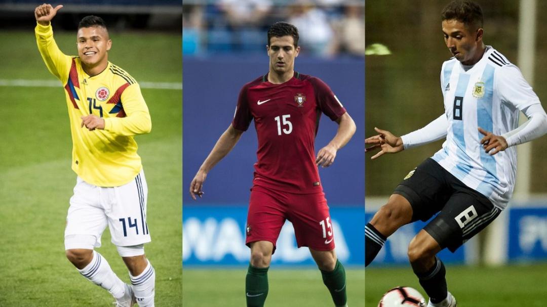Las figuras presentes en el Mundial Sub-20