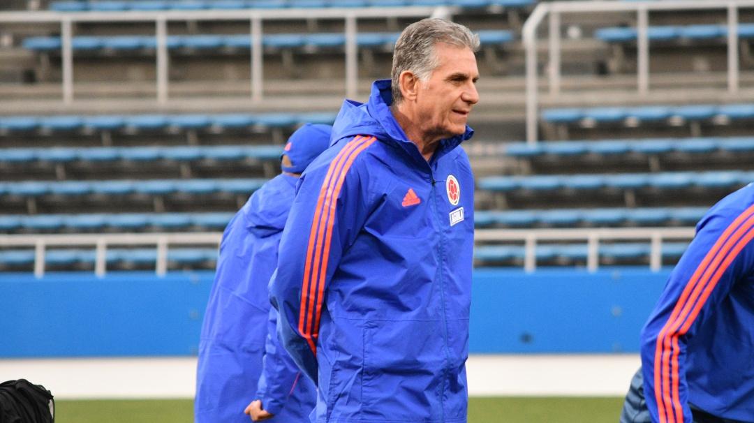 La Selección Colombia ya adelanta trabajos en Bogotá