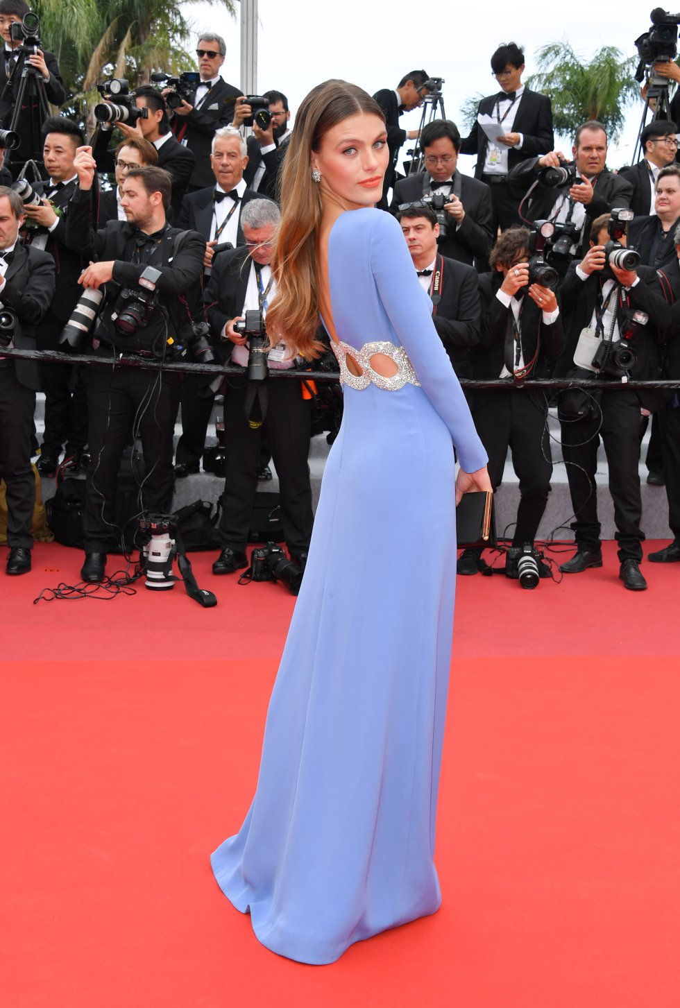 "Madison Headrick asiste a la proyección de ""Once Upon A Time In Hollywood"" durante el 72º Festival de Cine de Cannes el 21 de mayo de 2019 en Cannes, Francia."