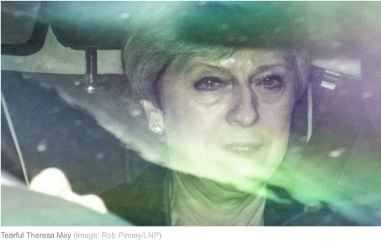 Brexit Theresa May: Las lagrimas de Theresa May por el Brexit