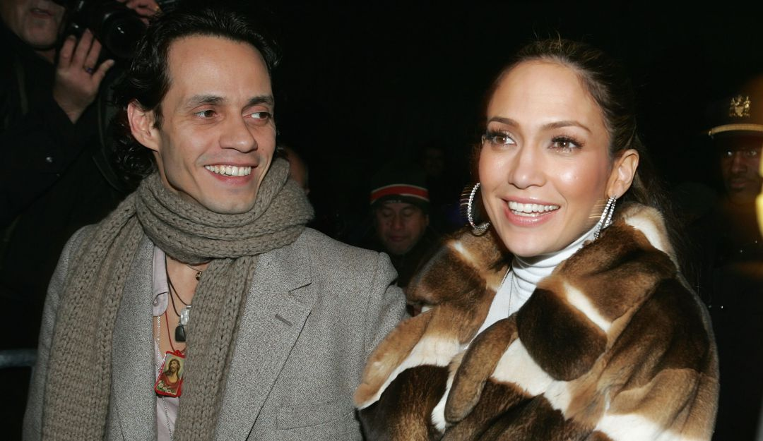 Marc Anthony y Jlo.