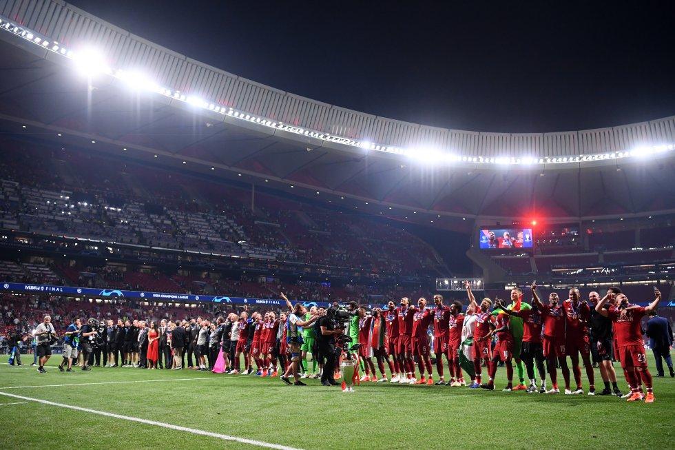 liverpool tottenham champions: Las mejores imágenes de la final de la Champions League