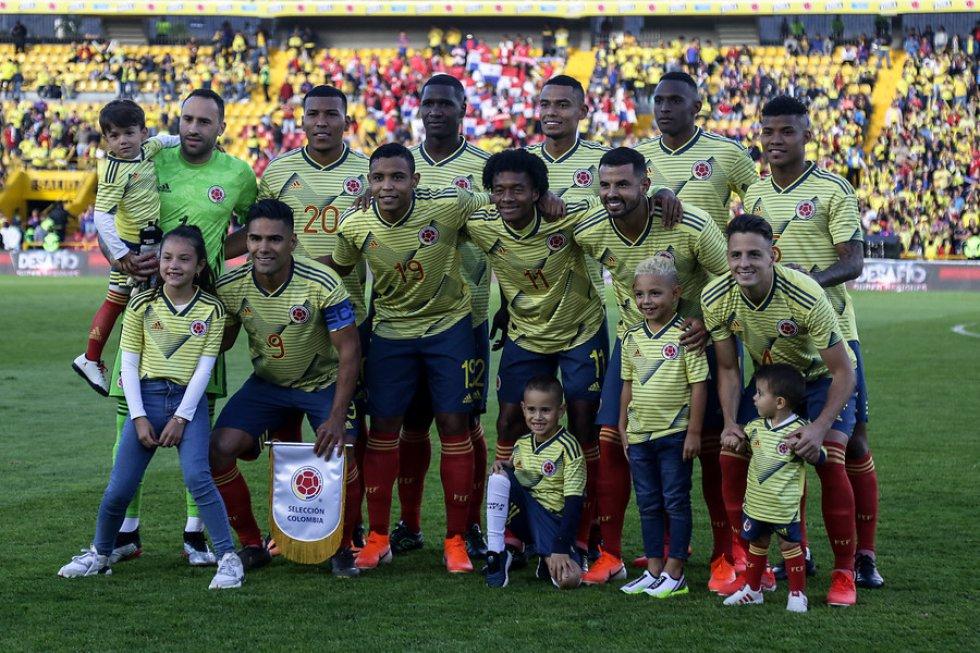 Fotogalería Colombia - Panamá: Las mejores imágenes de la goleada de Colombia sobre Panamá