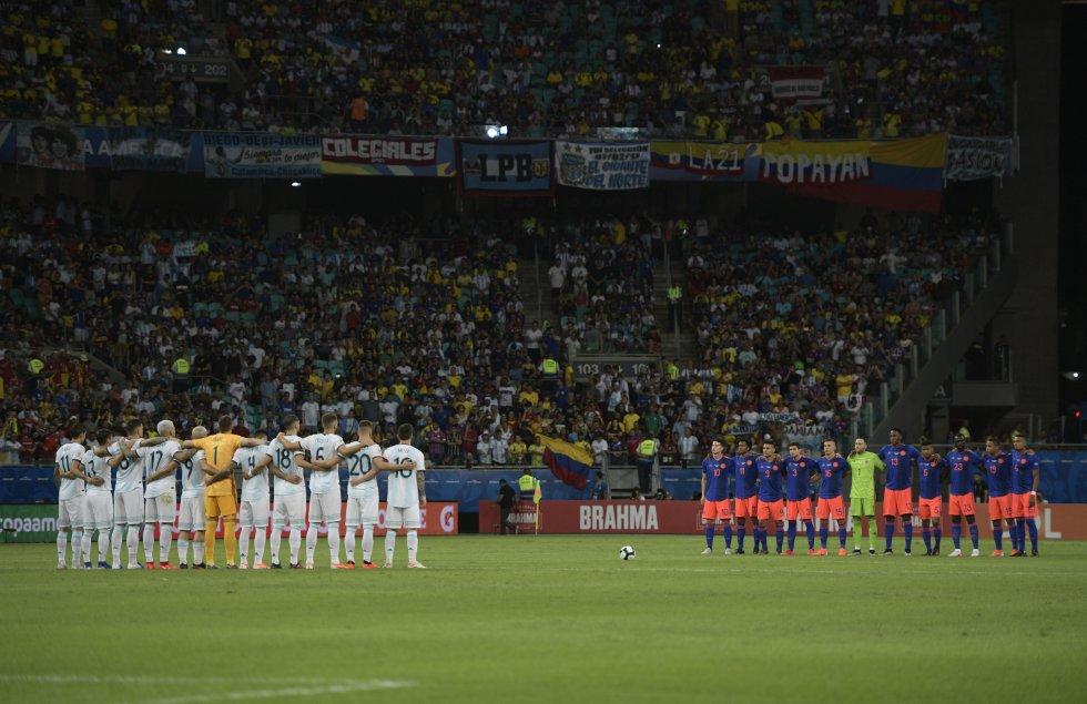 Colombia Argentina Copa América: En imágenes: El histórico triunfo de Colombia ante Argentina