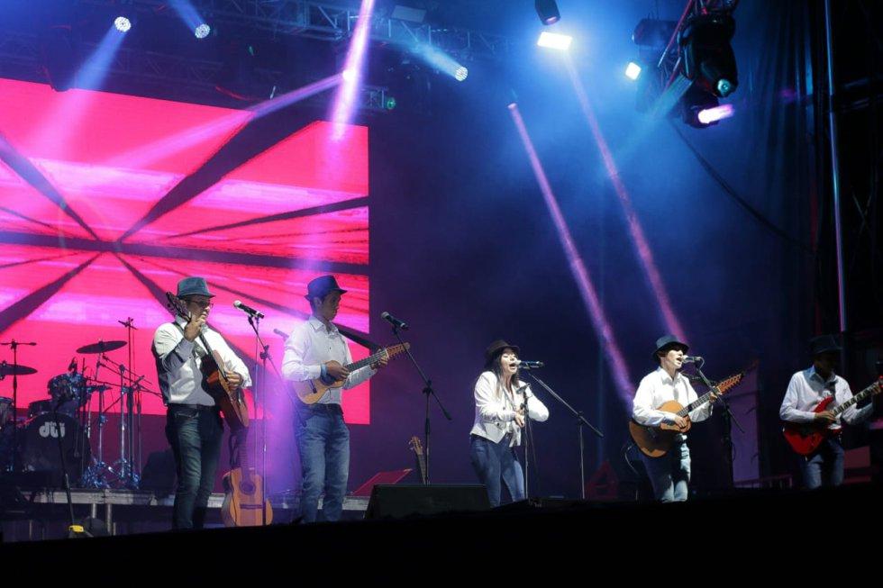 Grupos de música en ExpoSoacha