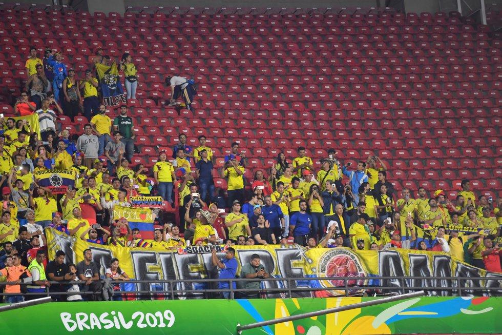 Colombia Catar Copa América: En imágenes: La victoria colombiana ante Catar en Sao Paulo