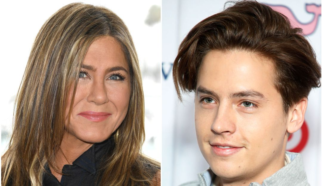 Jennifer Aniston y Cole Sprouse