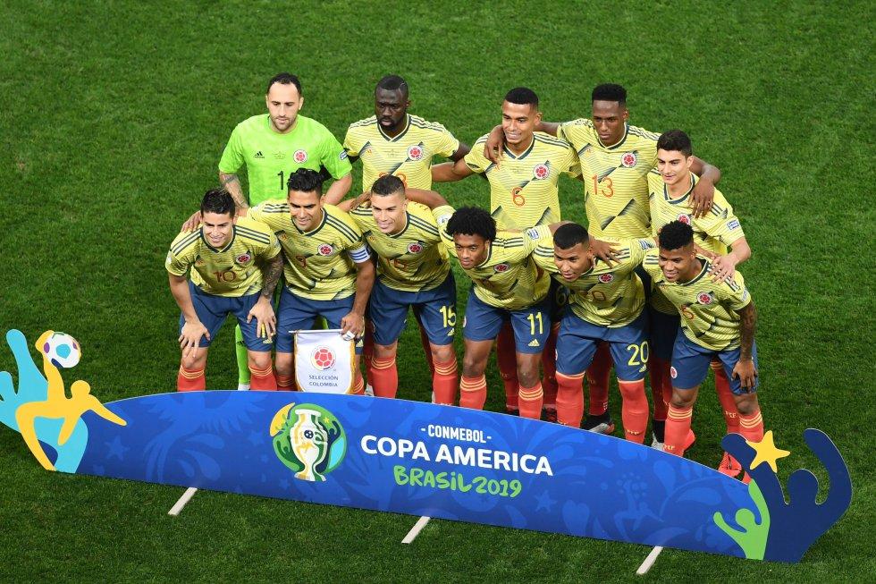 Copa América Chile Colombia: En imágenes: El duelo entre Colombia y Chile en cuartos de final