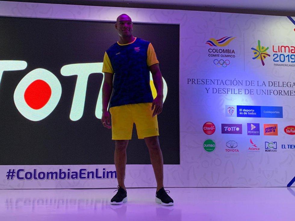 colombia panamericanos: La indumentaria que vestirá la delegación colombiana en Panamericanos