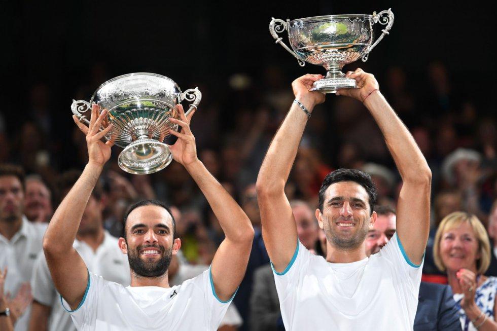 Juan Sebastian Cabal y Robert Farah campeones de Wimbledon: ¡Postales históricas! Las mejores fotos de los campeones de Wimbledon