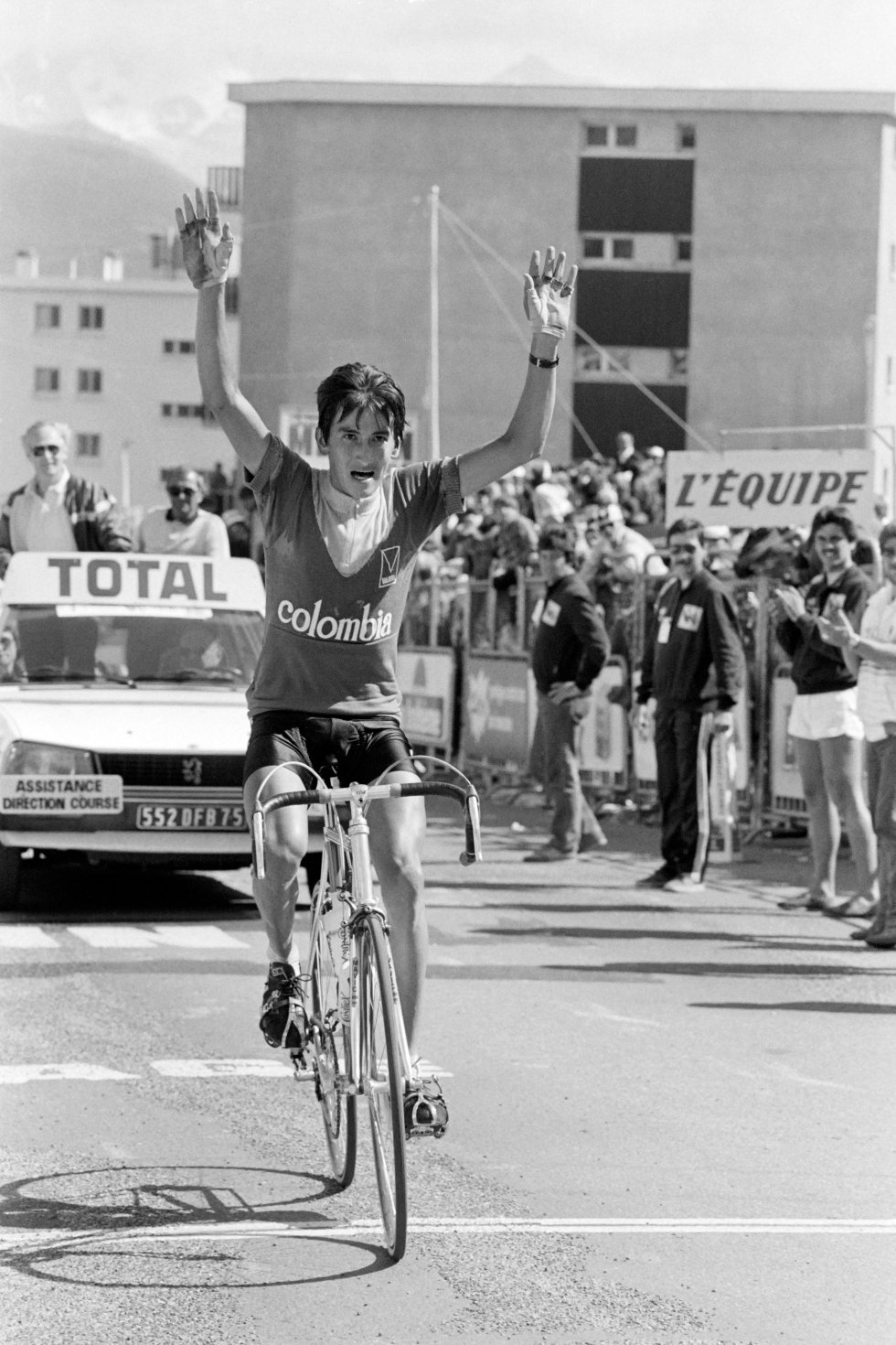 'Lucho' Herrera: 1984, etapa 17