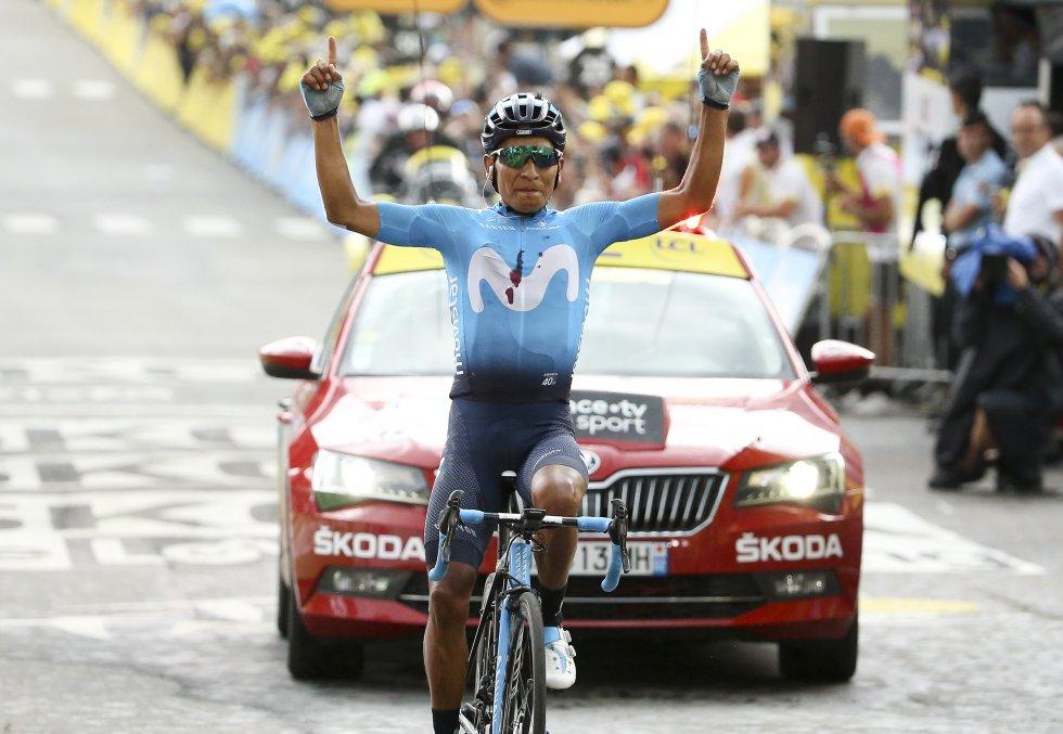 Nairo Quintana Tour de Francia: Las mejores imágenes que dejó la etapa de Tour que ganó Nairo