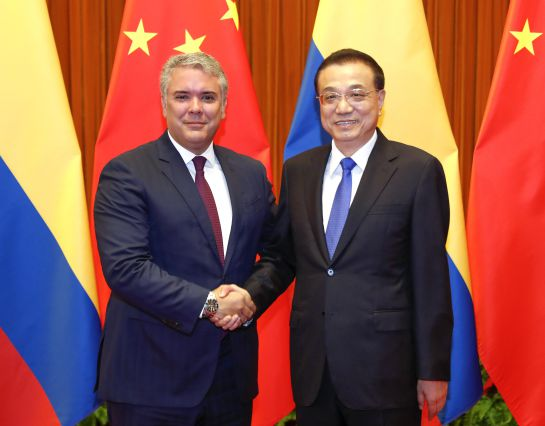 Iván Duque en China