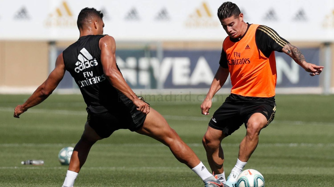 ¿Sorpresa? James Rodriguez convocado para el debut del Real Madrid