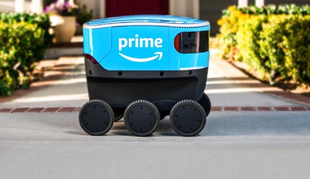 Robot de entregas Amazon: ¡Cerca del futuro! Amazon inicia segundas pruebas de su robot de entregas