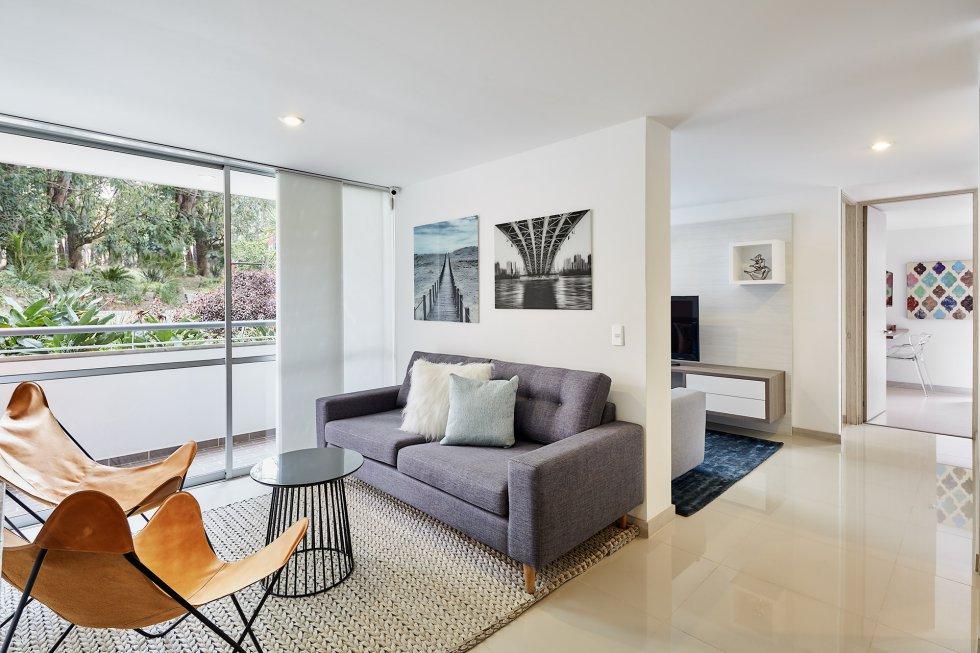 Apartamento modelo.