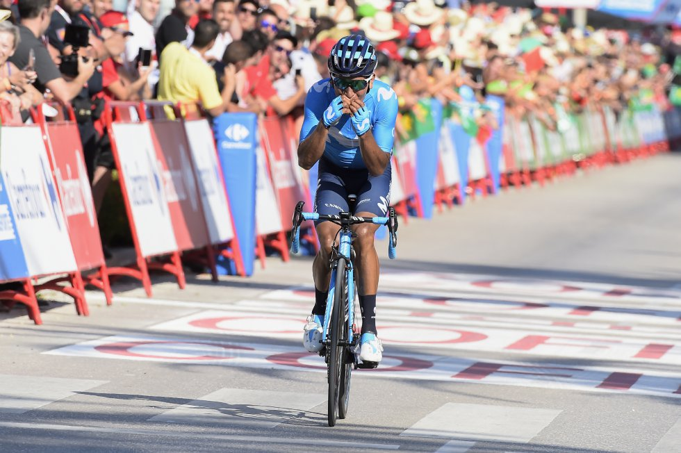 vuelta a españa nairo quintana: Las mejores imágenes de la etapa 2 de La Vuelta a España
