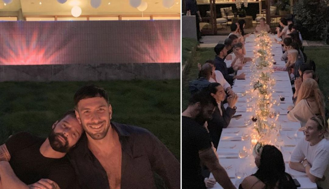 Cumpleanos Feliz Ricky Martin.Cumpleanos Del Esposo De Ricky Martin La Romantica