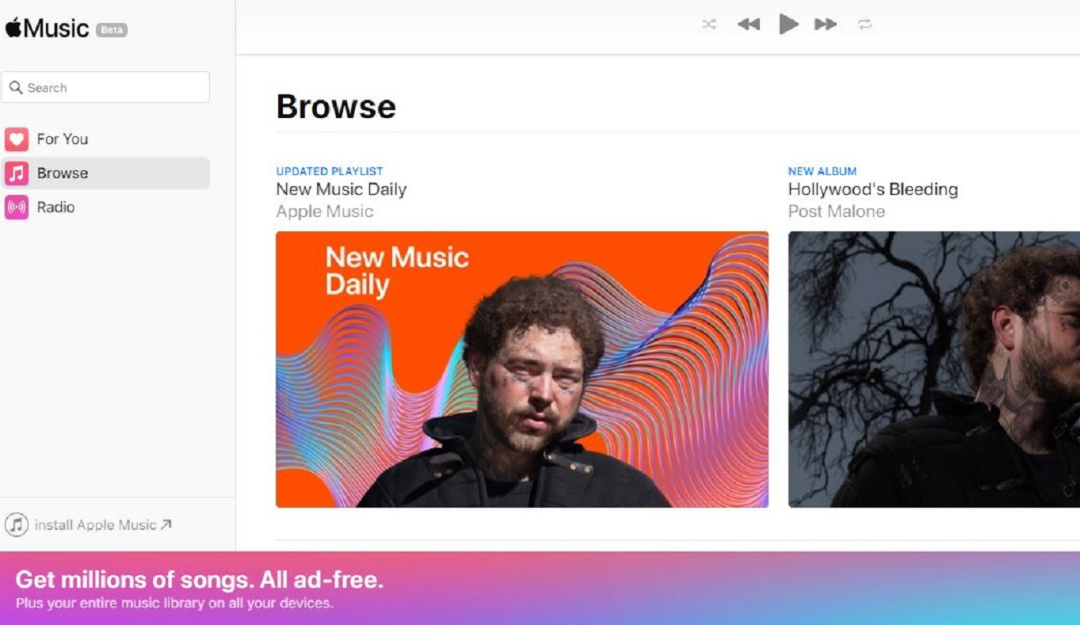 Apple Music internet: ¡Por fin! Apple Music llega a la web