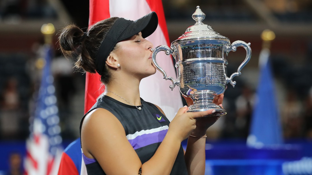 Una indomable Andreescu supera a Serena Williams