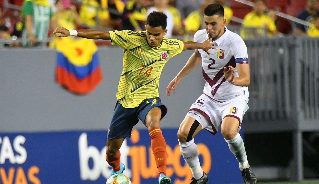 Resultado de imagen para amistoso colombia vs venezuela 2019