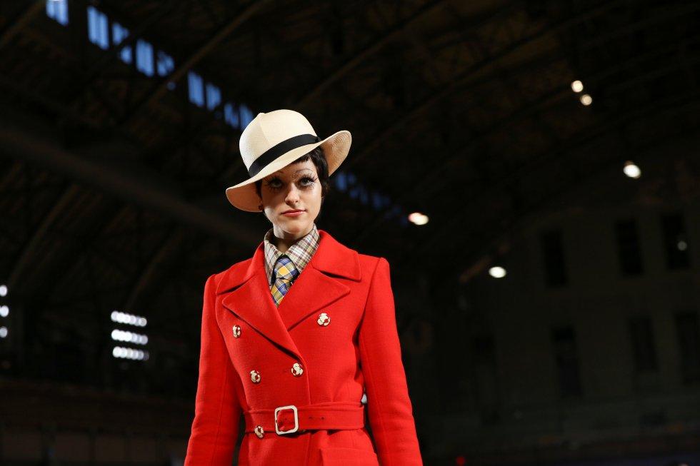 Desfile con las creaciones de Marc Jacobs, colección de verano del 2020.
