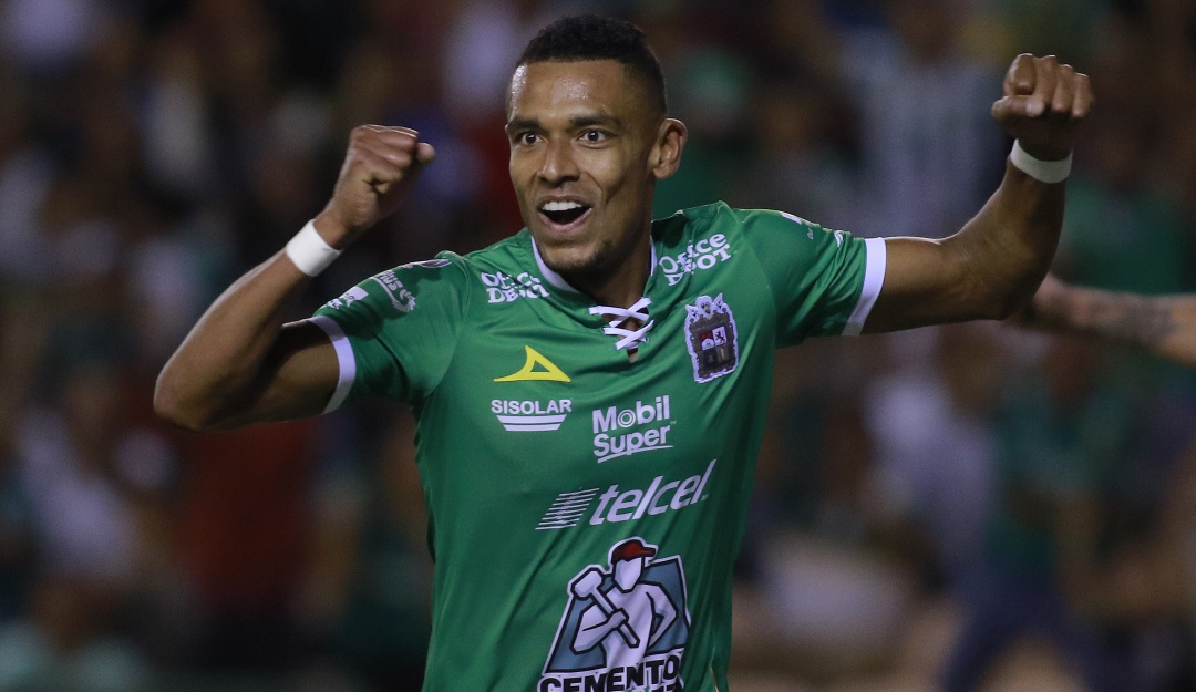 William Tesillo Club León gol México: William Tesillo anotó en la victoria de León en el fútbol mexicano