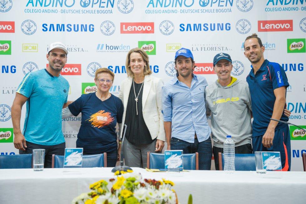 El evento recibió el nombre de Andino Open.
