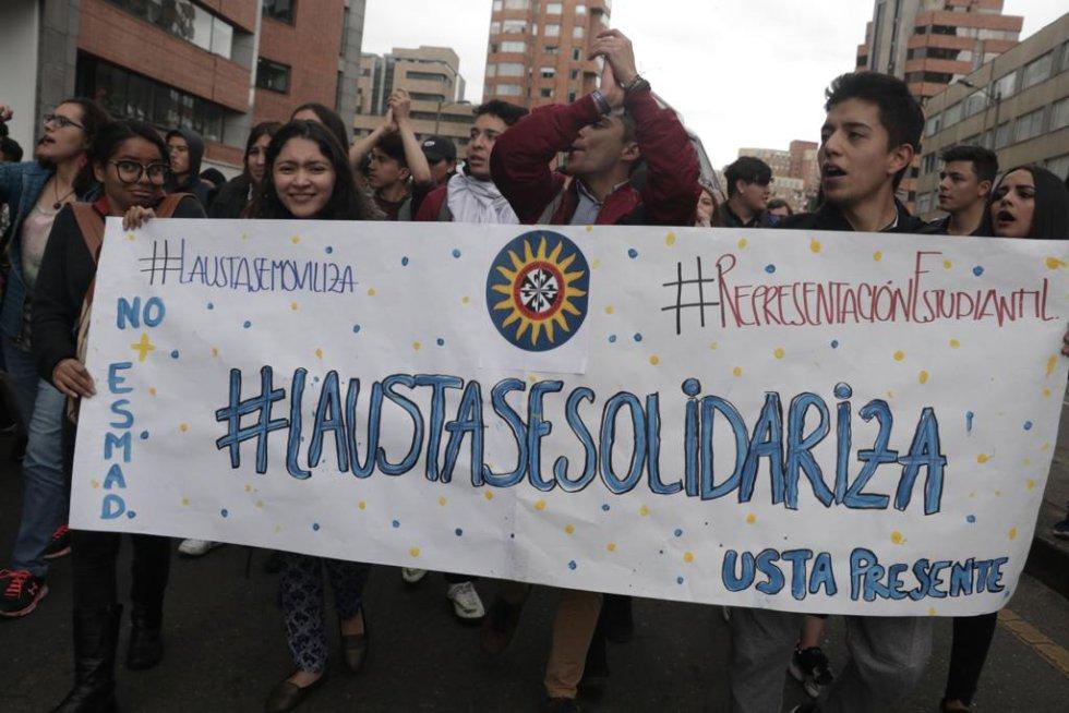 Marchas estudiantiles: Las postales que dejan las protestas de los estudiantes