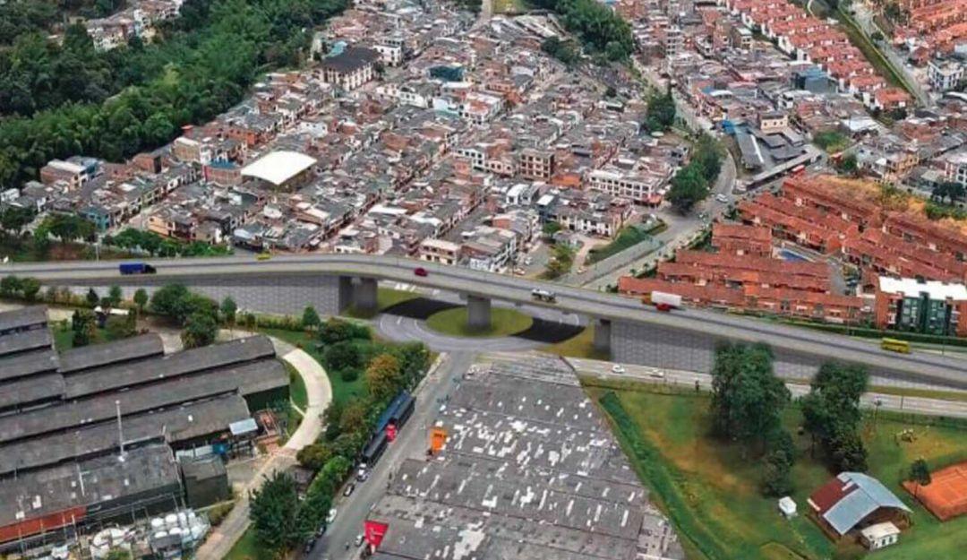 Puente de Postobón en Dosquebradas: Dosquebradas tendrá un puente elevado en la glorieta de Postobón