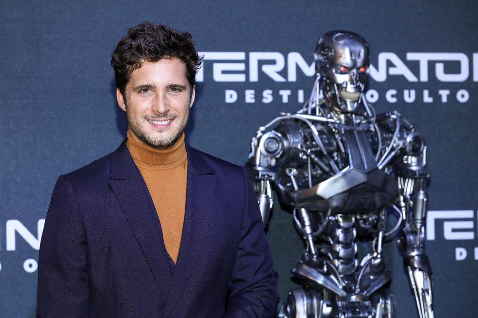 El actor Diego Boneta es otro de los actores que integran el elenco