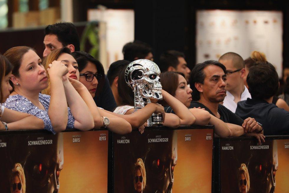 Terminator: Dark Fate México: ¡Hasta la vista, baby! Natalia Reyes brilló en la premier de 'Terminator'