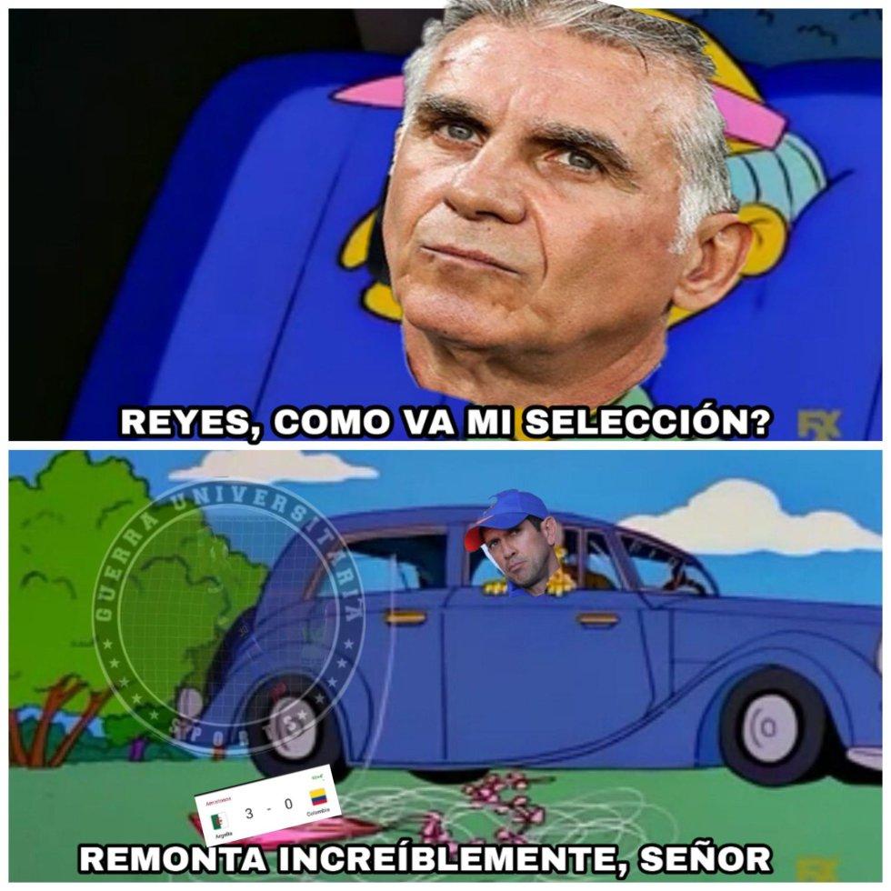 memes colombia 0-3 ante argelia fecha FIFA queiroz pekerman falcao james: ¡Las redes no perdona! Los memes de la goleada de Argelia sobre Colombia