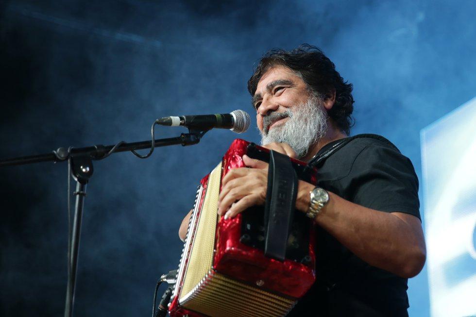 El cantante y acordeonista mexicano falleció el 21 de agosto de 2019.
