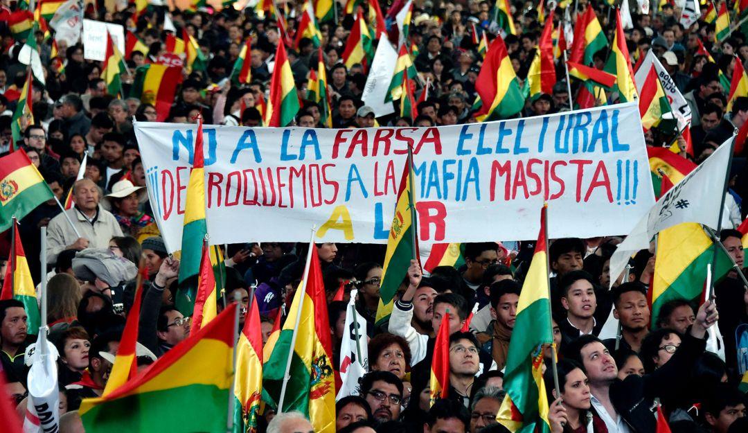 Manifestaciones, Bolivia, Huelgas, Evo Morales: Inicia huelga general en  Bolivia ante posible triunfo de Morales | Internacional | Caracol Radio