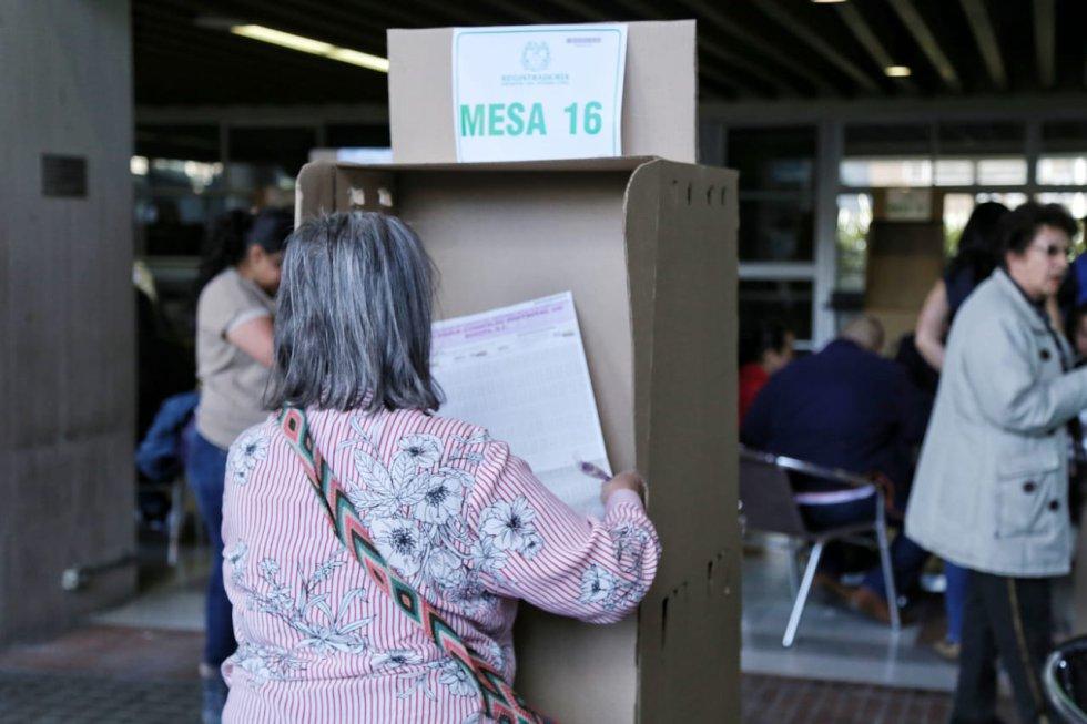Este 27 de octubre 36'602.752 personas podrán ejercer su derecho al voto.