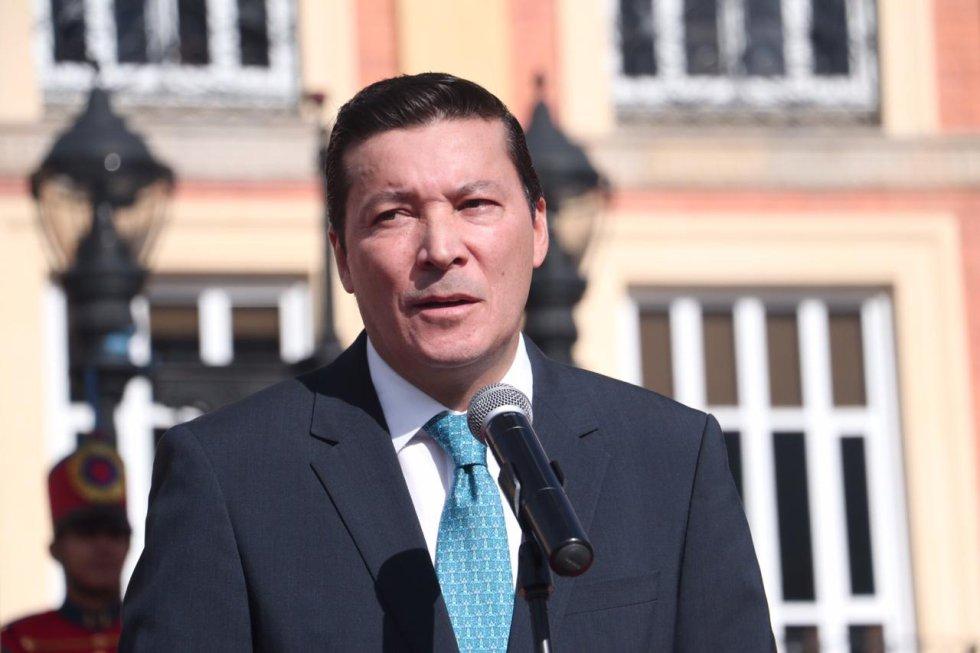 """El presidente del Consejo Nacional Electoral, Hernán Penagos, hace llamado a los votantes para que no vendan su voto e indica, """"queremos dejar un mensaje claro: colombianos, salgan a votar, elijan bien y eljan a los mejores candidatos"""""""