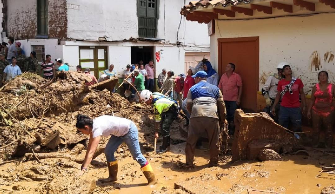 58 familias damnificadas es el balance final en Jericó, Antioquia - Caracol Radio