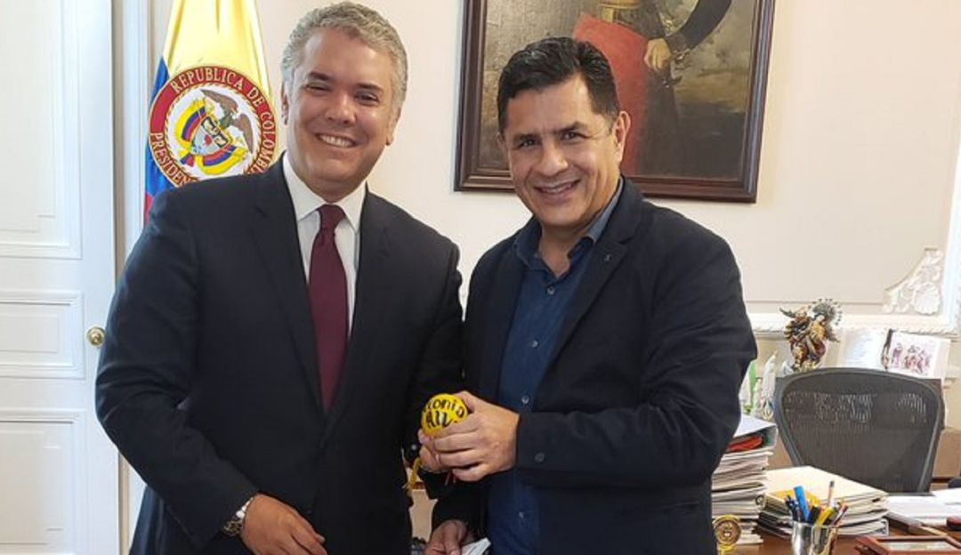 Economía Naranja, uno de los temas de la reunión Jorge Iván Ospina y Duque - Caracol Radio