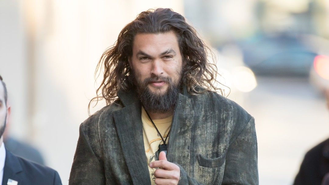 Aquaman: El actor Jason Momoa compartió foto inédita