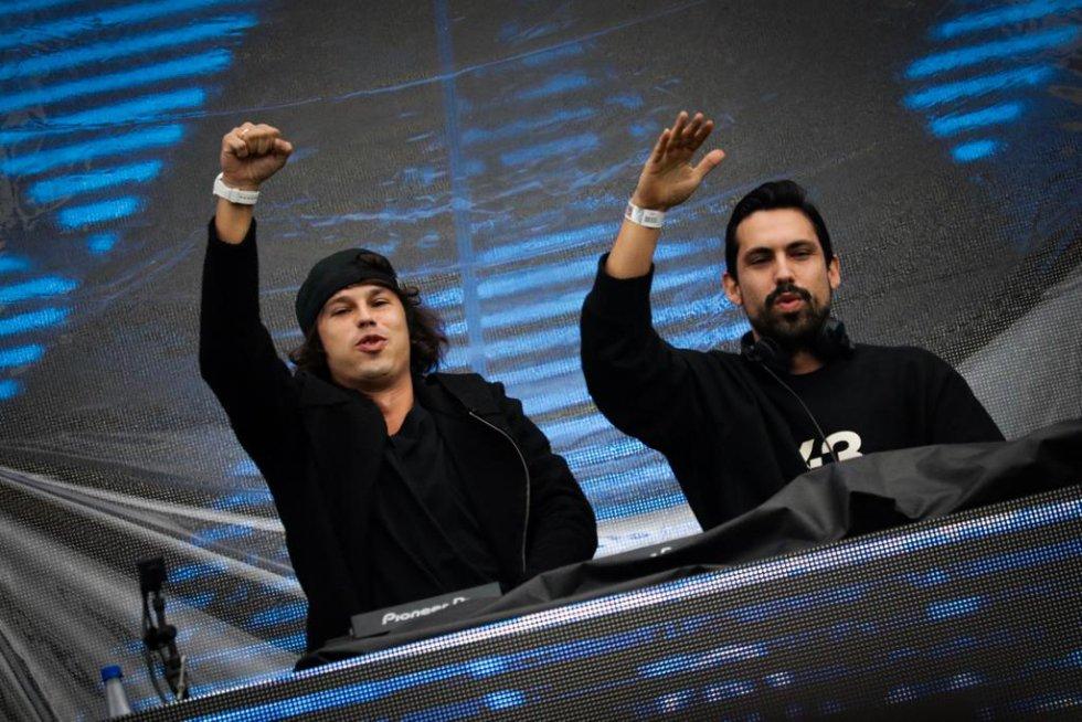 Chemical Surf el dueto hizo parte de esta primera versión del festival.