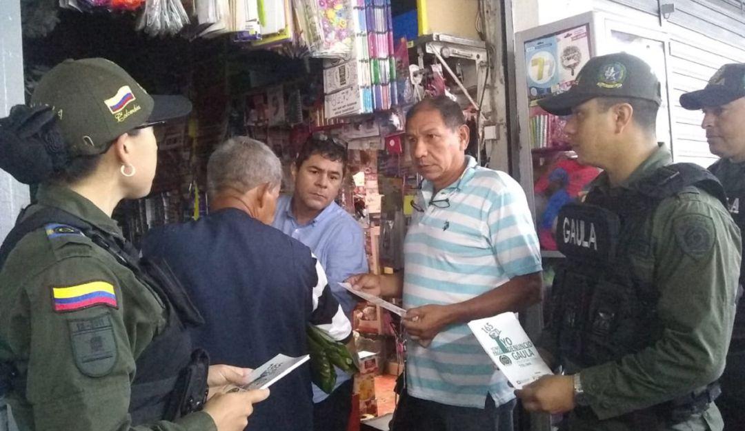Gaula de la Policía interviene plaza de Ibagué - Caracol Radio