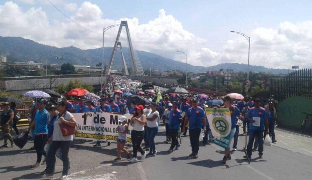 Puntos de concentración en Pereira para el paro del 21 de noviembre - Caracol Radio